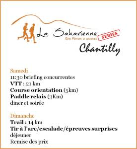 programme series chantilly ddd